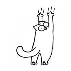 как отучить кошку драть обои, кошки, котята